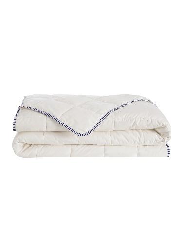 Hibboux 155x215 Vanilla Pamuk Yorgan 300 gr/m2 Beyaz